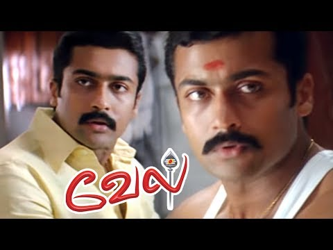 Vel | Vel Full Movie | Vel Tamil Movie Scenes | Suriya Meets His Real Parents | Vel Best Scenes