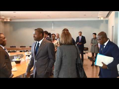 Faure Essozimna Gnassingbé , Président de la République du TOGO & MPr Horst Seehofer Teil III