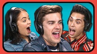 YOUTUBERS REACT TO TRY TO GUESS THE ENDING CHALLENGE #3