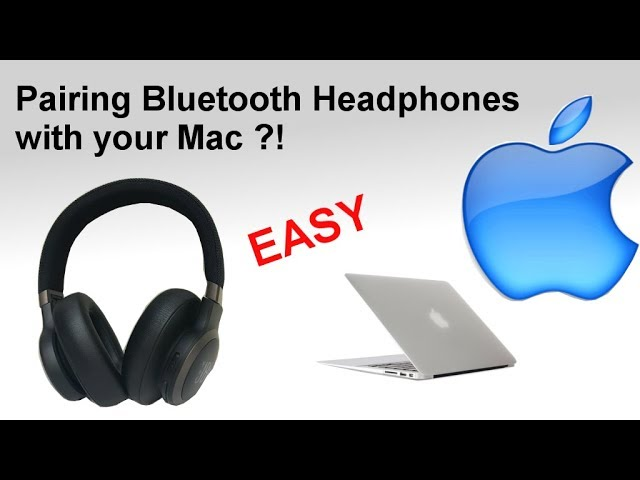 Pairing Bluetooth Headphones To A Mac Computer How To Youtube