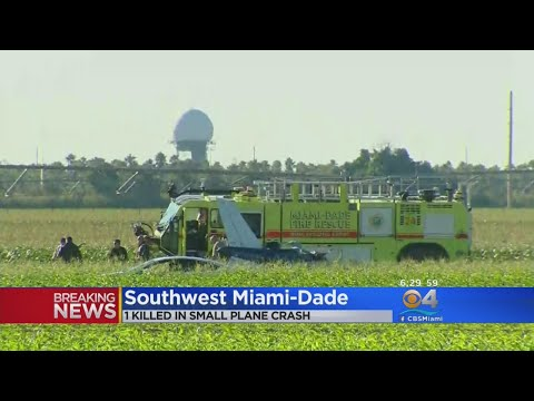 Plane Crashes After Declaring Mid-Air Emergency Near Miami Executive Airport
