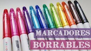 Frixion colors Pilot - Marcadores que se Borran - StephanieVlog