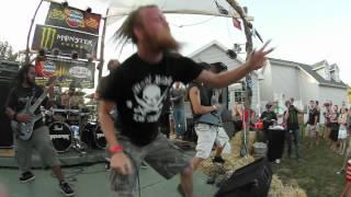 Battlecross - Push Pull Destroy [Live] at Ben's Backyard BBQ!