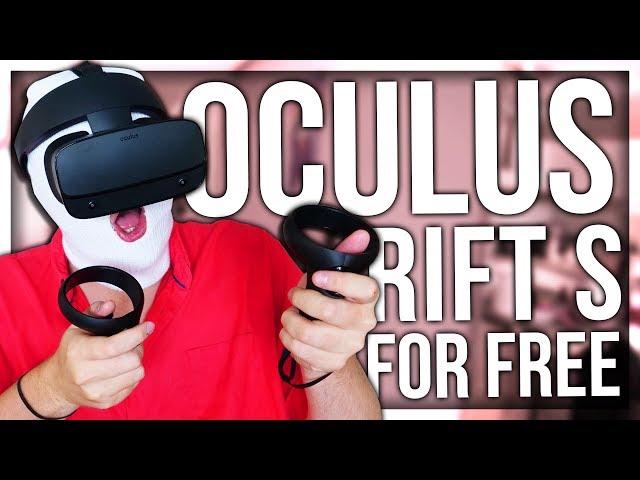 I GOT AN OCULUS RIFT S FOR FREE