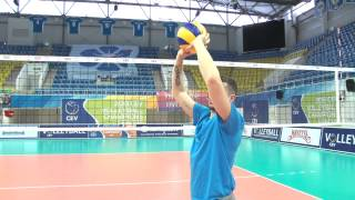Master-Class by Valerio Vermiglio. How to pass in volleyball