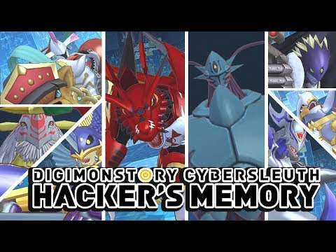 Digimon Story : Cyber Sleuth Hacker's Memory All Ultra/Mega Digimon Special Attacks & Victory Poses!