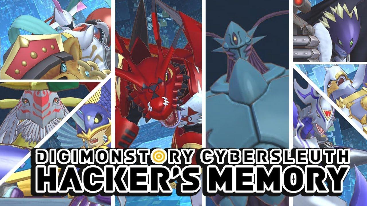 Digimon Story Cyber Sleuth Hacker S Memory All Ultra Mega