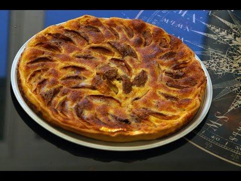 Tarte aux pommes à la cannelle par Mamy Monica