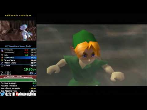 Ocarina of Time MST speedrun in 1:58:20
