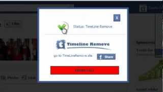 how to remove your facebook timeline on mozilla firefox