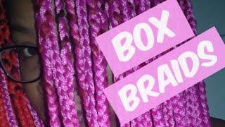 Como fazer tranças (box braids) com linha de croché  Anndy Bittencourt