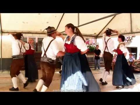 Romantic Country folk dance Austria romantischer Volkstanz in Österreich baile Austria