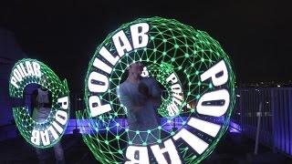 ビジュアルポイパフォーマンス Visual Poi ポイラボ POILAB (グラフィックポイ) V3