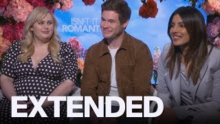 Rebel Wilson, Adam DeVine, Priyanka Chopra On 'Isn't It Romantic' , Valentine's Day | EXTENDED