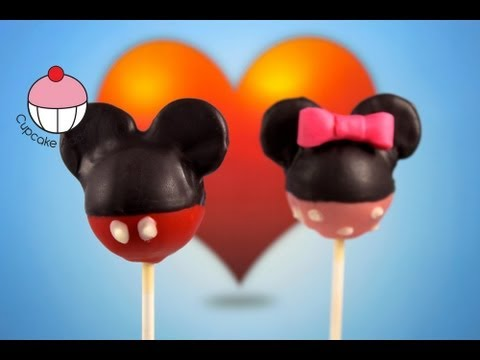 Mickey Mouse Cakepops Learn How To Make Mickey Cake Pops A Cupcake Addiction Tutorial Youtube
