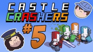 Castle Crashers: The Tall Grass - PART 5 - Steam Train