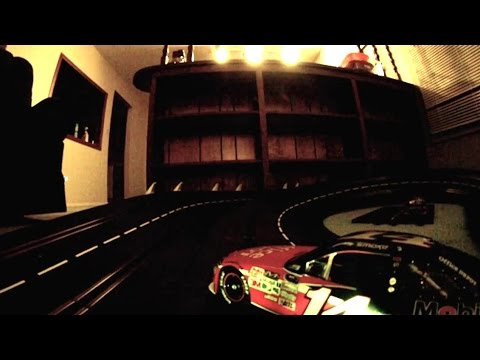 Carrera Digital FPV Slot Car Crashes