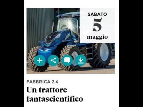 RADIO 24 - FABBRICA 2 4 (CNH  - Un trattore fantascientifico)