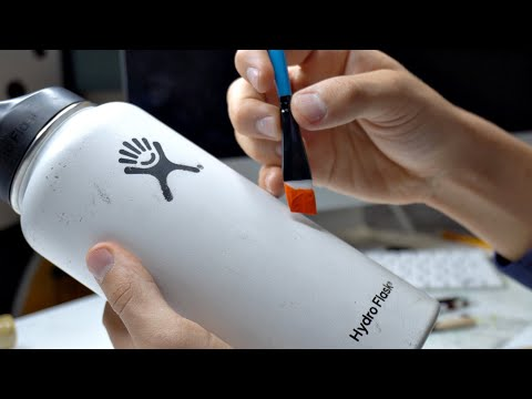 Custom HYDRO FLASK!!💧(SATISFYING)