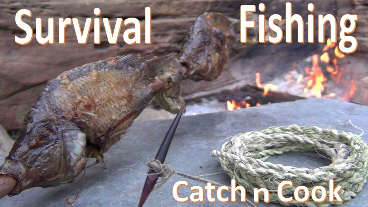 Survival Fishing Catch n Cook Primitive Gorge Hook