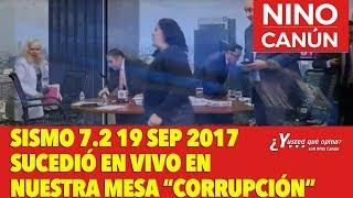 ASI SE VIVIÓ EL SISMO DEL 19 DE SEPTIEMBRE 2017 EN VIVO