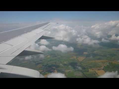 [HD] | AIR EXPLORE | Boeing 737-4YO | OM-AEX | Landing Dublin Airport | EIDW | 28/06/2014
