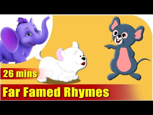 Nursery Rhymes Vol 6 - Collection of Thirty Rhymes Travel Video