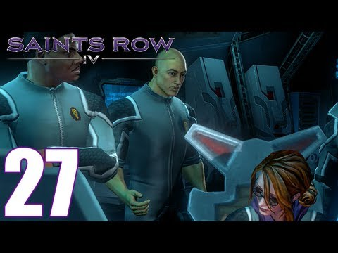 Saints Row 4 Walkthrough Part 27: Batteries Not Included Gameplay Let's Play