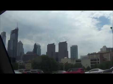 Downtown Philadelphia, PA Skyline