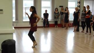Танго-соло-техника по версии Марианы Солер (Буэнос-Айрес)