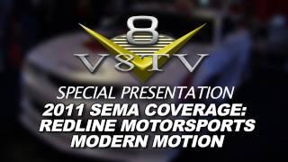 2011 SEMA Video Coverage - Redline Motorsports MOTION Camaro V8TV