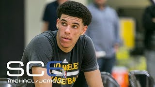 Lonzo Ball Has Second Workout With Lakers | SC6 | June 16, 2017
