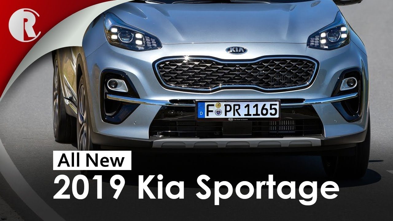 2019 kia sportage facelift unveiled youtube. Black Bedroom Furniture Sets. Home Design Ideas