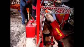 Small firewood processor - Borders Machinery Ring