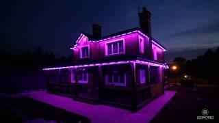 Контурная подсветка частного дома BRIGHTLED STARLIGHT(, 2017-10-03T14:23:04.000Z)