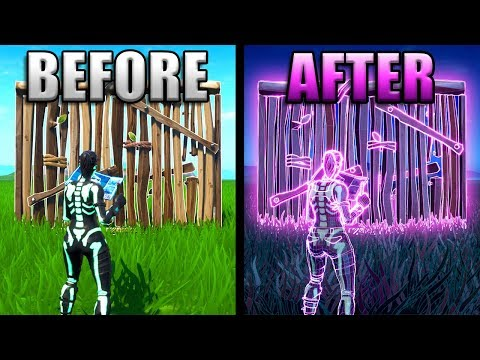 How To Build With *NEON* Materials In Fortnite!