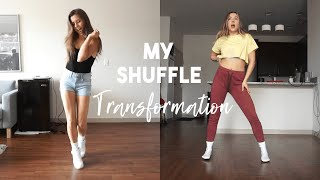 My Shuffle Transformation | From ultimate NOOB level to now!
