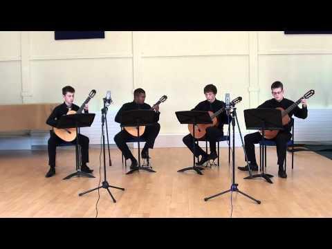 John Barry The Persuaders TV Theme (guitar quartet)