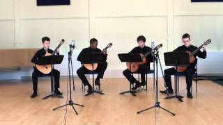 John Barry The Persuaders TV Theme (guitar quartet)
