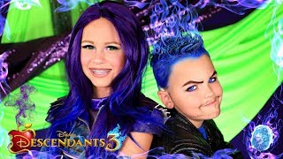 Disney Descendants 3 Mal and Hades Makeup and Costumes