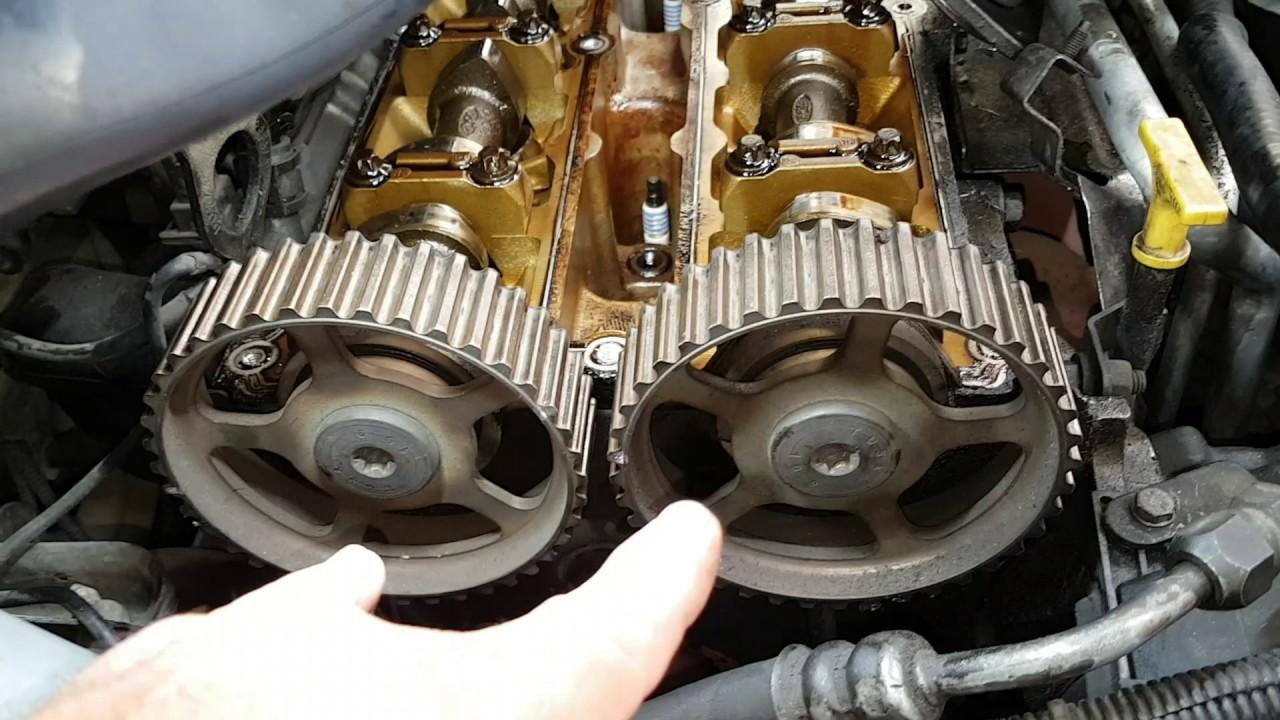 Ford Escort Con Motor Zetec Youtube