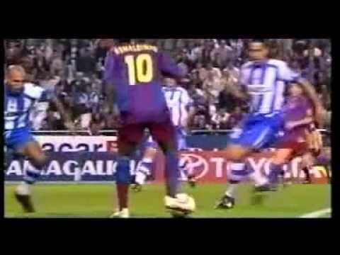 Duelos de oro:Zidane vs Ronaldinho(4/5)