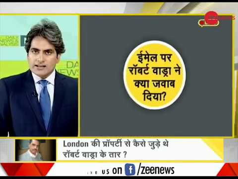 DNA: How an email trail has Robert Vadra in a spot in money laundering case