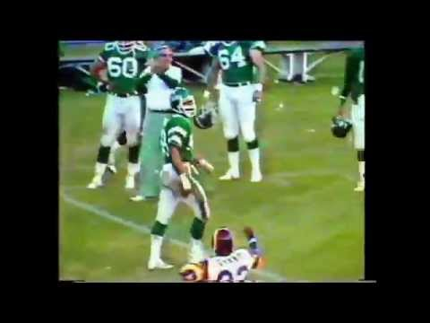 Los Angeles Rams at New York Jets 25th September 1983