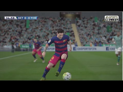 Lionel Messi vs Real Betis (Away) - 30/04/2016 - |FIFA 16| by Pirelli7
