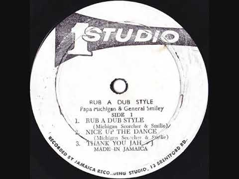 Papa Michigan & General Smiley - Rub A Dub Style - 1979 (LP)