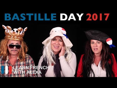 "Today is French ""Bastille Day"" - 14 JULY, 2017"