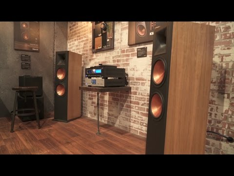 Klipsch Reference RF-7 III floor-standing speakers | CES 2017 | Crutchfield video