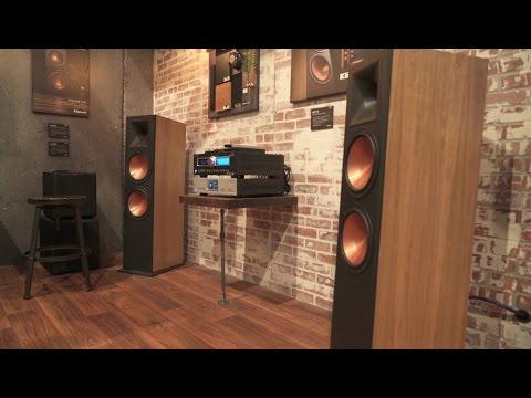 Klipsch Reference RF-7 III floor-standing speakers | CES 2017 | Crutchfield video