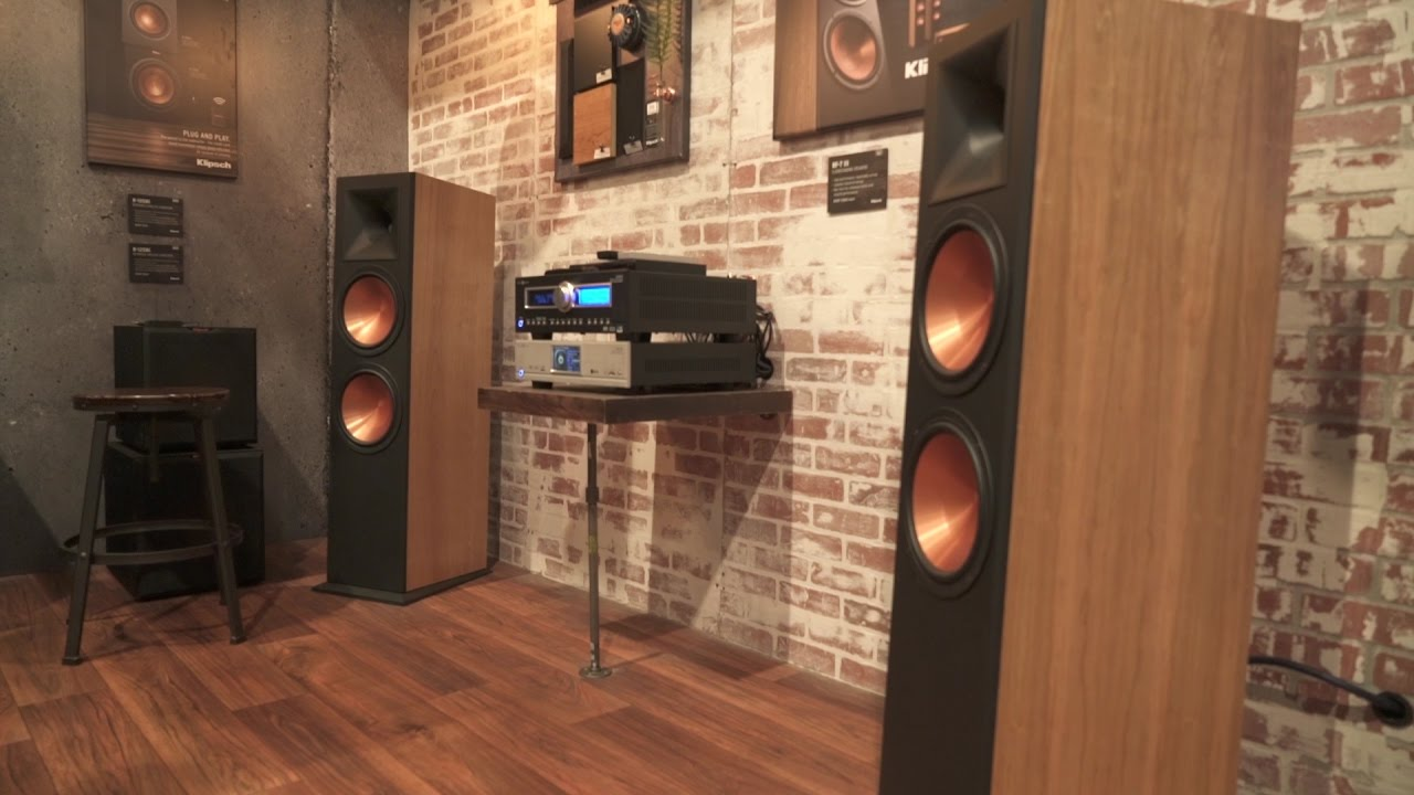 Klipsch Reference RF7 III floorstanding speakers  CES
